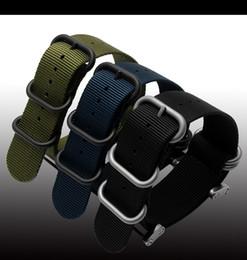 Wholesale Clasp Kits - Wholesale- 2016 fashion nato long Suunto Core Nylon Strap Band Kit w Lugs Adapters 24mm Zulu Watchbands nylon smart bracelet for men