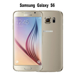 "Wholesale Gsm Unlock Wholesale - Samsung Galaxy S6 Original Unlocked 4G GSM Android Mobile Phone G920F Octa Core 5.1"" 16MP 32GB Dropshipping"