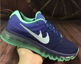 Wholesale Material Lace - wholesale 2017 online men running shoes quality Jogging Shoes Material Sports Training shoes Maxes Shoe Size 40-45