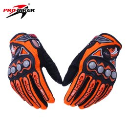 Wholesale Enduro Dirt Bike - Wholesale- PRO-BIKER Men Motorcycle Racing Gloves Dirt Bike Cycling Gloves Motocross Off-Road Enduro Full Finger Riding Gloves Size: M L XL
