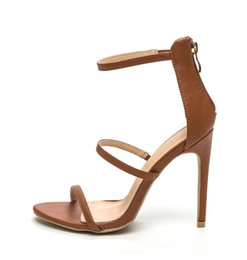 Wholesale Tan Stiletto Shoes - Zandina Women's Handmade Fashion Shoes Cut-out Slingback Open-toe Sexy Summer 10cm High Heel Party Prom Sandals Tan