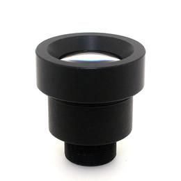 Wholesale Megapixel Cctv Lens - 2MP CCTV security camera lens Megapixel IR Cut Filter M12 mount 25mm Fixed iris mtv Lens