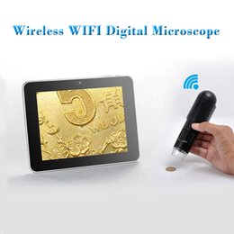 Wholesale Microscope For Android - Top Quality! New Handheld 720P HD WiFi Digital Microscope for iOS Android Device, 200x, Measurement (on PC)