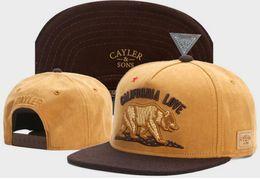 Wholesale California Fashion Men - Cayler & Sons CALIFORNIA LOVE 2017 New Fashion Cayler Sons Men Snapback Hats Women Ball Caps Top Quality