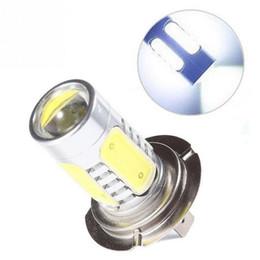 Wholesale Hid Driving Fog Lights - 1Pc Bright White H7 5LED 7.5W Fog Head Tail Driving Car 12V Light Bulb Lamp M00105