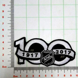 Wholesale Good Cup - National Hockey League NHL 2017 Seaso Patch 100th Anniversary Jersey Sleeve Logo Emblem Stanley Cup