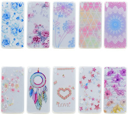 Wholesale E5 Phones - Dreamcatcher Mandala Soft TPU Case For Sony Xperia E5 XA Ultra C6 X Performance X Compact Xiaomi 5 M5 Mi5 Mix Flower Star Phone Cover 100pcs