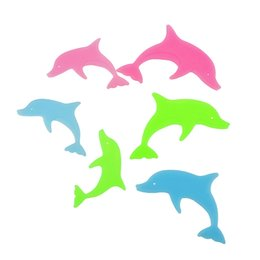 Wholesale Colorful Posters - Diy colorful dolphin kids wall sticker for kids rooms glow in the dark wall stickers home decor living rooms fluorescent poster