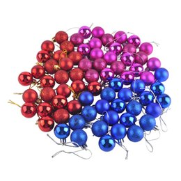 Wholesale Beige Tree - 24pcs  lot Christmas Tree Decor Ball Bauble Hanging Xmas Party Ornament decorations for Home Xmas Balls Decorations Baubles Party Wedding