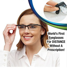 Wholesale Vision Eyeglasses - Dial Vision Adjustable Lens Eyeglass For Men Women Gift Magnifying Glass Action Toy Figures Reader Glasses bottle Toys Hobbies