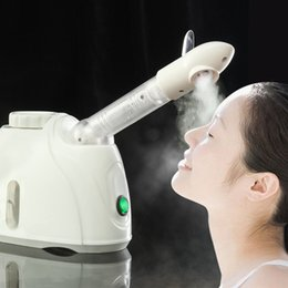 Wholesale Ozone Vaporizer - Steam ozone Facial Steamer Face Sprayer Vaporizer Beauty Salon Spa Skin Detox Whitening Moisturizing Exfoliating Care Machine