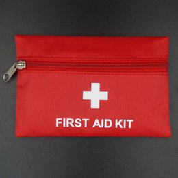 Wholesale Mini First Aid - first aid kit medical outdoor camping survival first aid kits bag professional Urgently MINI first aid kit Empty