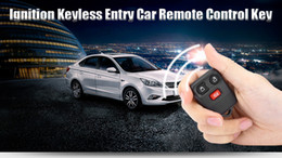Wholesale Ford Ignition - Auto Car Vehicle Ignition Remote Control Keyless Entry Key 3 Buttons Shell for Ford Replacement 194003701