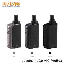Wholesale Light Box Kits - Joyetech eGo Aio Pro Box Kit VS Joyetech eGrip II Light Starter Kits 2100mAh