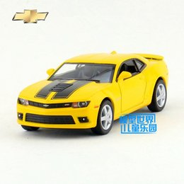 Wholesale Toy Metal For Die Casting - KINSMART Die Cast Metal Models 1:38 Scale 2014 Chevrolet Camaro toys for children's gifts or for collections pull back educational limited