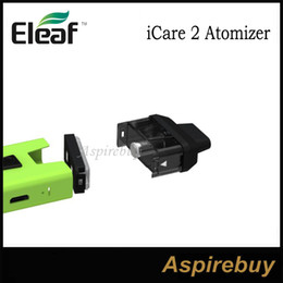 Wholesale Filling Head - Eleaf iCare 2 Atomizer 2ML with IC 1.3ohm Coil Heads and Mouthpiece Top Filling Design Best Compatible with Eleaf iCare 2 Kit 100% Original