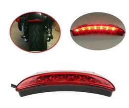 Wholesale Strobe Motorcycles - Led Motorcycle Racer taillight,motorbike brake lights,rear fender edge warning lights for Harley Sportster XL883 1200