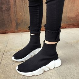 Wholesale Socks Designs Shoes - Socks shoes lover out door mens womens top quality sport shoes 2017 flywire socks design running shoes males wholesale