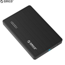 Wholesale Hard Disk Tools - Wholesale- ORICO 2.5 Inch HDD SSD Hard Drive External Enclosure Interface USB 3.0 to SATA 3.0 Tool Free Desktop PC Hard Disk Box