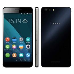 Wholesale 925 Phone - Original Huawei Honor 6 Plus Mobile Phone Kirin 925 Octa Core RAM 3GB ROM 16GB 32GB Android 4.4 5.5 inch 8.0MP Dual Rear Camera Cell Phone