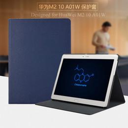 "2019 подставка для ручек Wholesale-Luxury pu leather tablet cover for Huawei mediapad 10"" M2 A01W M2-A01L M2-A01W stand case 10.1 inch screen film pen as gifts дешево подставка для ручек"