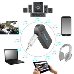 Wholesale Usb Bluetooth Music Receiver Adapter - Wireless Car Bluetooth Receiver Adapter 3.5MM AUX Audio Stereo Music Hands-freeHome Car Bluetooth Audio Adapter for Speaker
