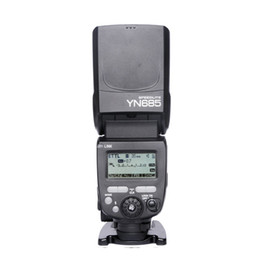 Wholesale Yn Flash - Wholesale-YONGNUO YN685 YN-685 (YN-568EX II Upgraded Version) Wireless HSS TTL Speedlite Flash Build in Receiver Worked with YN-560 IV