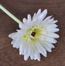 andar vasos de flores artificiais Desconto Mostrar flor flor de seda artificial flower floor calliopsi para fontes do partido decorativo vaso de crisântemo vaso decorativo