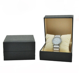 Wholesale Jewelry Ordering Boxes - Factory direct spot plastic embryo box, litchi pattern flip plastic watch box jewelry plastic box, the number of orders can be customized LO