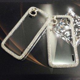 Wholesale Mobile Phone Accessories Bling - Transparent Crystal Mobile Phone Case Bling Rhinestone Protective Cases For LG nexus 4 Phone Accessories P-118