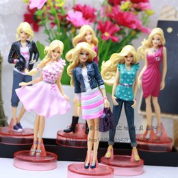 Wholesale Cake Decorations China - Barbie doll model cake decoration furnishing articles furnishing articles 6 suit doll sight