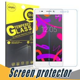 Wholesale Xperia Screen Protectors - Explosion Proof Tempered Glass Screen Protector 9H 2.5D Screen Protector Film For Sony Xperia C3 C4 C5 C6 E4 E5 Z1 Z2 Globe Version