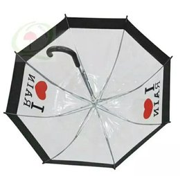 Wholesale Wholesale Adult Novelties Items - 2017 new hot Umbrellas Transparent Creative Rain Sunny Women Girls Ladies Novelty Items Long Handle Umbrellas
