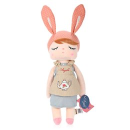 Wholesale Nice Rabbits - 3 Type Angela Plush Doll Toy for Kids Angela Soft Rabbit Dolls Toys with Nice Package