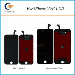 Wholesale Iphone Lcd Quality - Top A+++ Tianma Quality LCD Screen for iPhone 6 6 plus LCD Display Touch Digitizer Assembly Replacement Parts 100% Genuine No Dead Pixels
