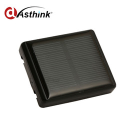 Wholesale Gps Solar Power - Eco-environment Waterproof Solar Chargeable Power GPS Tracker With SOS Alarm For Pet Cow Support WIFI