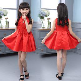 Red sleeveless dress uk