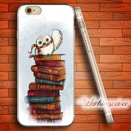 Wholesale Owl Iphone 5c - Coque Harry Potter Owl Soft Clear TPU Case for iPhone 7 6 6S Plus 5S SE 5 5C 4S 4 Case Silicone Cover.