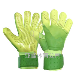 Wholesale Real Logo - 2017 Newest SGT NK Logo Negative Cut Goalkeeper Gloves Top Latex Soccer Football Gloves-latex Plam Goal Keeper Gloves
