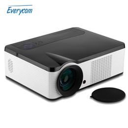 Wholesale Av Input Tv - Wholesale-2016 newest LED33 2000 Lumens Projector BEST HD Home Theater Multimedia LCD LED Projector AV VGA HDMI USB TV Input 1080P beamer