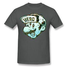 Wholesale Hero Plus Black - Man T Shirts For Sale Funny Printed T Shirts super Hero men 100 Cotton T Shirt short sleeve boys clothes crew neck