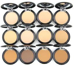 Wholesale High Press - High quality Professional Makeup STUDIO FIX POWDER PLUS FOUNDATION FOND DE TEINT POUDRS 15g face powder pressed powder drop shipping