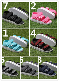 Wholesale Sport Med - ADILETTE SANDAL W Sandals In The Summer Of Men's And Women's New Flat Magic Joint Sandals Leisure Sports Shoes Y-3 sandals, Free Shipping