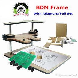 Wholesale Fast Rover - BDM FRAME With Adapters Set Fit For BDM100 Programmer CMD FGTECH Fast Shipping 2016 Newly Design High Quality BDM FRAME With Adapters