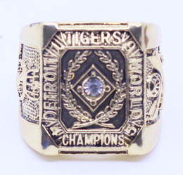 Wholesale White Tiger Plate - 1945 detroit tigers world championship ring