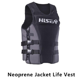 Wholesale Man Float - Wholesale- Neoprene Surfing Floating Life Vest Rafting Snorkeling PFD Inflatable Kids Women Men Life Jacket Swimwear Swimming Life jackets