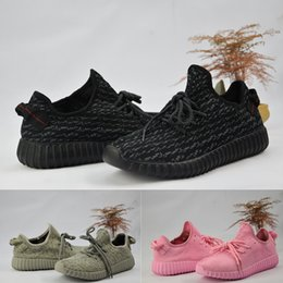 Wholesale Lace Oxford Flats - 2017 adidas 350 yeezy boost final Version v1 and v2 boost Turtle Dove Running Shoes mix moonrock oxford tan pirate black Shoes size