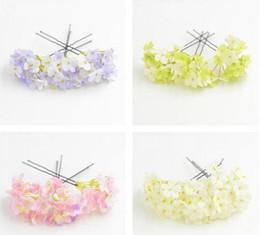 8pcs Fashion Wedding Bridal Party Flower Clip di capelli Tornante # R571 da