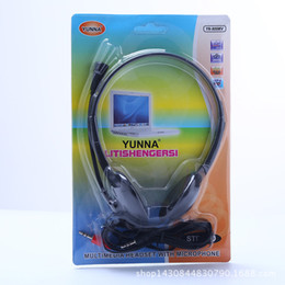 Wholesale Notebook Yellow - Street source of hot hot style computer headset stereo notebook game music headsets manufacturer wholesale