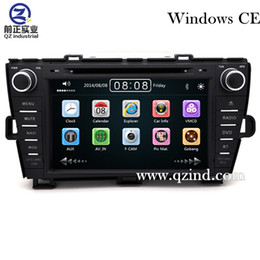 Wholesale Dvd Player For Prius - FOR Toyota Prius 2008 - 2014 car dvd player With Built-in GPS Navigation HD 1080P MP4 Player Bluetooth FM AM Radio Steering Wheel Control